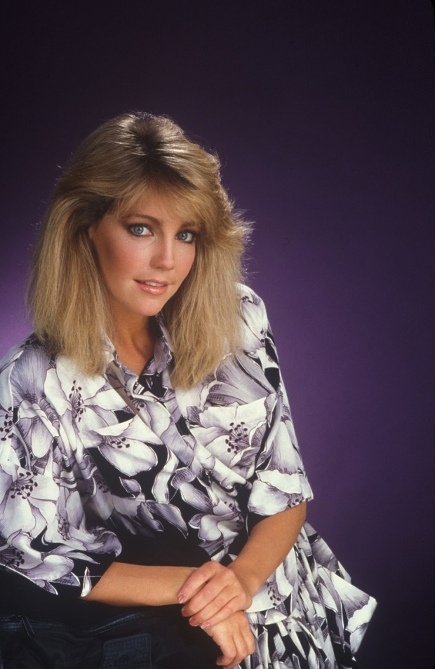 Heather Locklear Lennon Photoshoot 1985