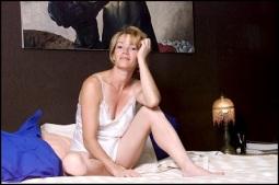 08/00/2001. EXCLUSIVE Brigitte Lahaie at home.